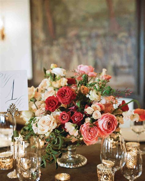 Wedding Centerpieces by Floral Wedding Centerpieces Martha Stewart Weddings