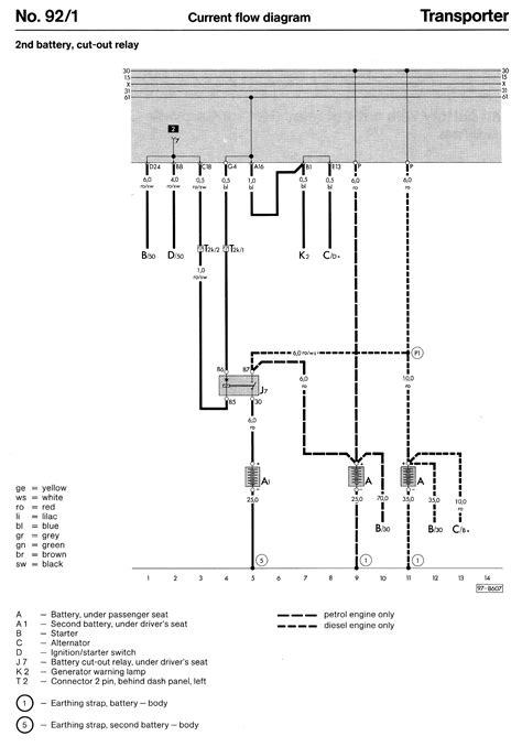 Vanagon Wiring Diagram Ingition Module by Wiring Diagrams T3 T25 Vanagon Manuals Upgrades