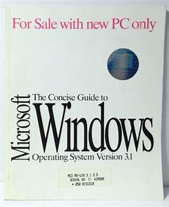 Microsoft The Concise Guide To Windows Operating System