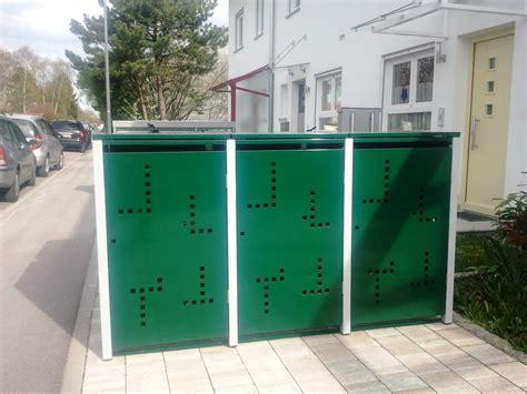 Mülltonnenboxen Aus Metall Langlebig Und Schön  Alles Für