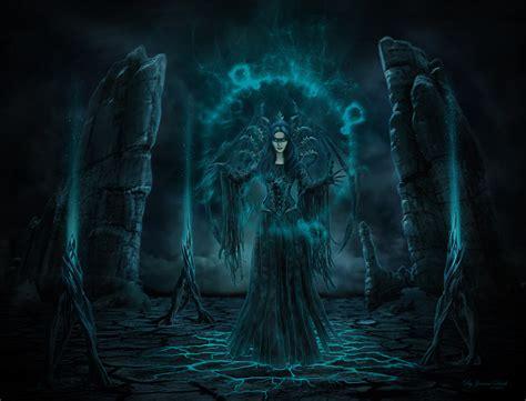 dark fantasy witch hd wallpaper background image