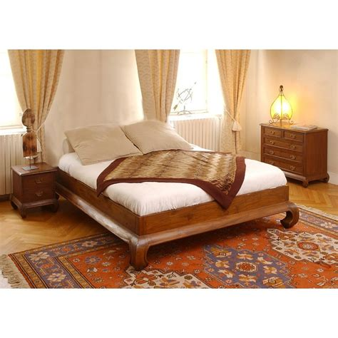 chambre teck lit opium teck pas cher en vente chez origin 39 s meubles