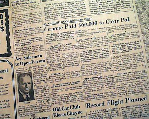 1947 Al Capone Death...