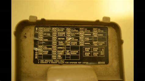 Nissan Maxima Fuse Box Diagram Wiring