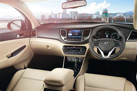 Hyundai Tucson 2017 Interior India
