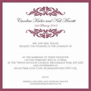 wedding invitation wording samples with ucwords card With wedding invitation bulk sms sample
