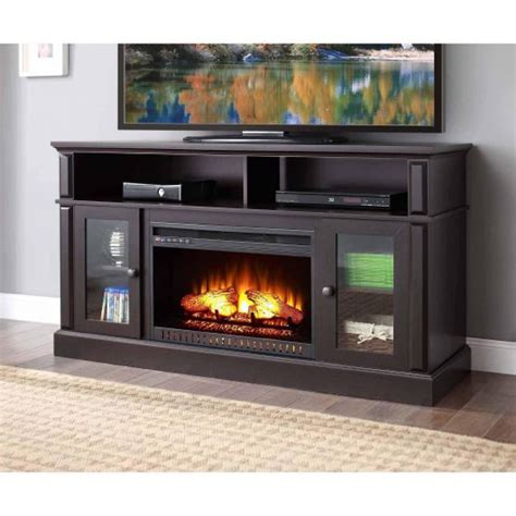 fireplace tv stand walmart whalen barston media fireplace tv stand on just 279