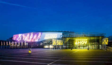 rotterdam ahoy verwelkomt het eurovisie songfestival