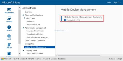 Office 365 Intune by Terry L U S Migrate Office 365 Mobile Device