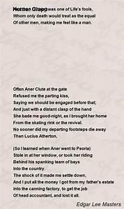 Epic Poetry Homer Clapp Poem By Edgar Lee Masters Poem Hunter