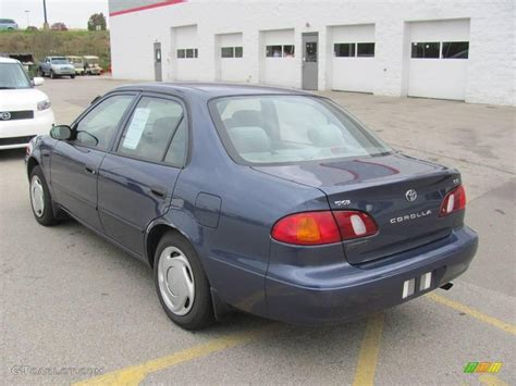 2000 Toyota Corolla Ce by 2000 Twilight Blue Pearl Toyota Corolla Ce 21124681 Photo