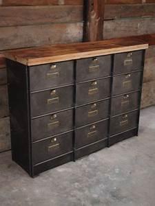 17 meilleures idees a propos de armoires metalliques sur With superior banc entree meuble chaussure 12 meuble dentree bois metal banc vestaire de style