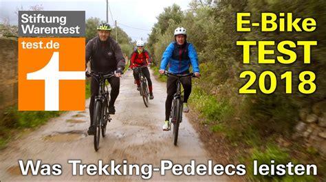 mtb beleuchtung test 2018 e bike test 2018 wie gut sind die neuen trekking pedelecs stiftung warentest