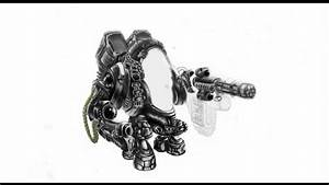 draw a War Robot - Picture Step by Step - YouTube