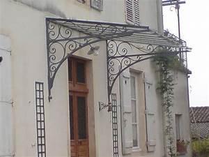 Marquise De Porte Ancienne : marquise en fer forg marquise en bois marquise en ~ Dailycaller-alerts.com Idées de Décoration