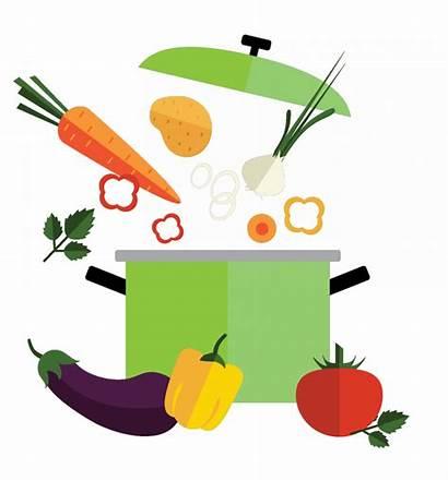 Clipart Soup Vegetable Clip Transparent Cartoon Stone