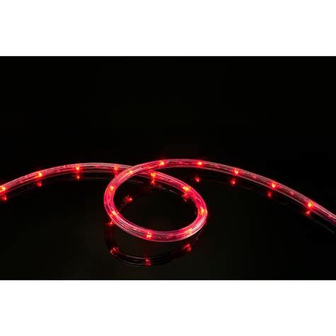 red led rope light meilo 16 ft all occasion indoor outdoor led rope light 360 176 directional shine decoration