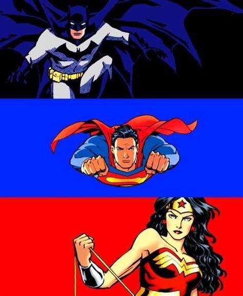 Batman Superman and Wonder Woman