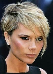 Coupe De Cheveux Pour Visage Rond Femme 50 Ans : coiffure courte femme 50 ans avec lunettes ~ Melissatoandfro.com Idées de Décoration