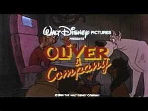 Oliver Company 1988 Dvd Menu