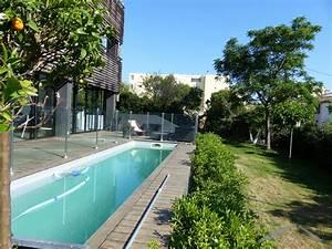 rez de jardin avec piscine au cabot With photo de jardin avec piscine