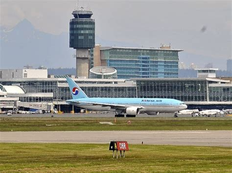 power restored  yvr   flight delays times