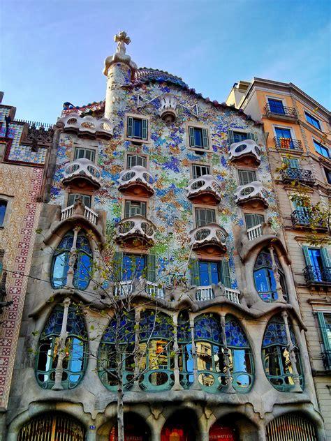 Casa Batilo by Casa Batll 243 Gaudi Casa Batll 243 Built Between 1904 And