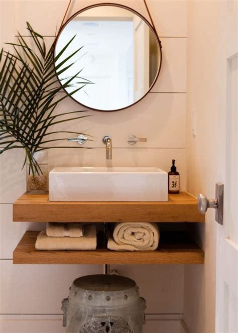 maple floating vanity cabinetry raw unfinished bathroom