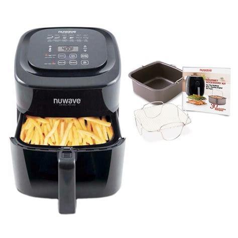 fryer air nuwave brio qt accessory baking kit pan recipes rack digital cooking rever fryers walmart delux gourmet piece manual
