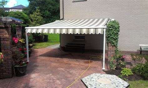 garden shelter adgey awnings shutters