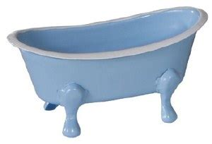 Enamel Bath Tub by 6 Quot Blue Enamel Bath Tub Soap Dish Wilford Home Accents