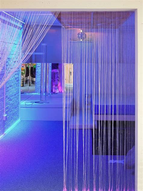 Led Lights Make Room by Fibre Optic Lights For Autistic Home