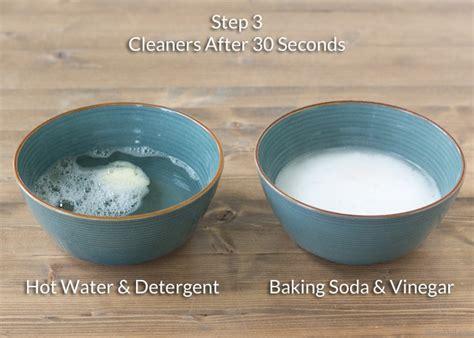 baking soda  vinegar  clean