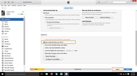 sync iphone wifi how to sync with itunes and lose nothing 1418