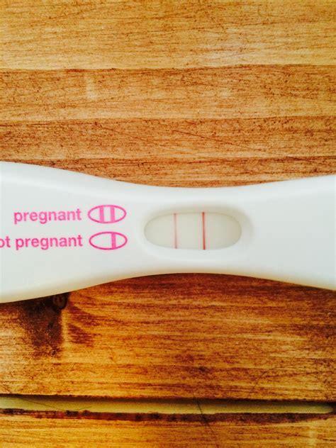Very Dark Positive Pregnancy Test 7 Days Before Missed Period