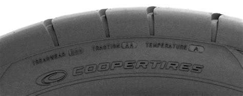 Treadwear, Traction, Temperatue