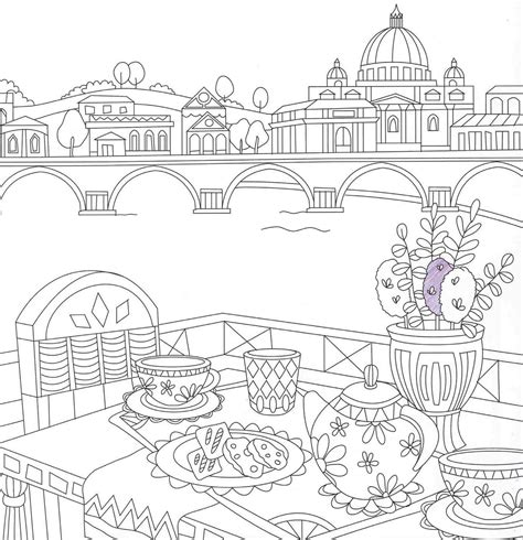 italy coloring travel coloringbook coloring pages