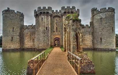 Castle Medieval Bridge Stone Water Bodiam Desktop