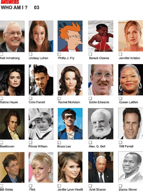 Celebrity Trivia And Answers Images Frompo
