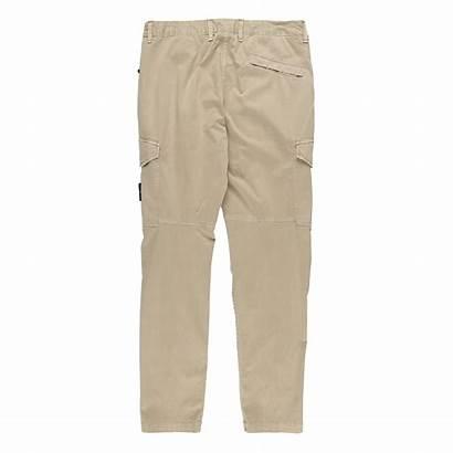 Pants Cargo Beige Stone Island Dark Trousers