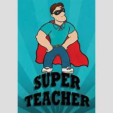 Super Teacher Thanks  Thank You Card For Teacher  Greetings Island