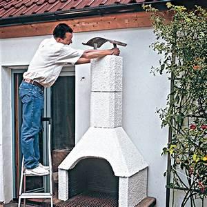 grillkamin bauen grilltechnik grillsysteme selbstde With französischer balkon mit garten bewässerung eigenbau