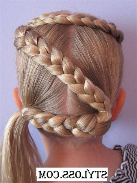 Cool Hairstyles For Girls Kids Twist Braided Heart