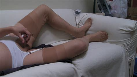 Heels Thong Beige Ff Stockings And Triple Cum Gay Porn 31