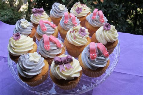 Girls Party Cupcakes