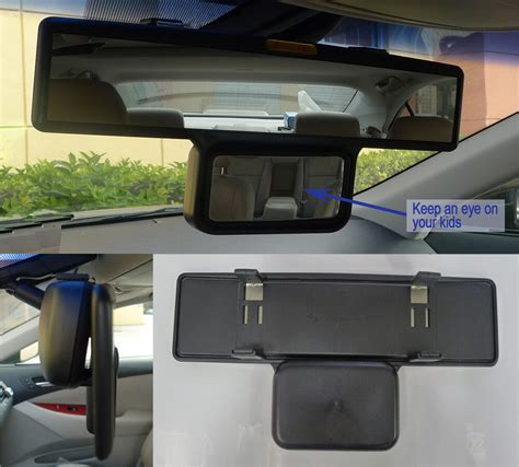 Rear View Mirror Blind Spot by 11 5 Quot Wide 280 Mm Convex Clip On Rear View Mirror W