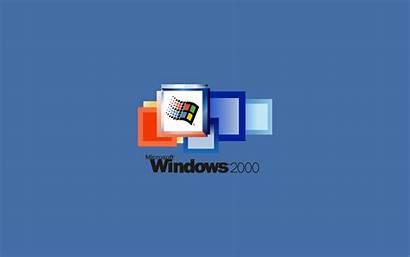 Windows 2000 Wallpapers 4k Microsoft Minimalist Pixel