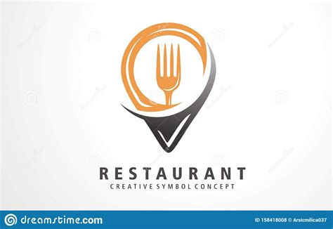The logo ought to uncover the character and nature of the brand and the products advertised. Creative Design Pin Food Restaurant Location. Fresh And ...