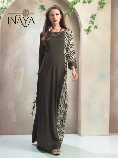 libas studio kurti gown  inaya designer party wear gown