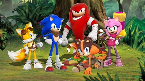 New Sonic Boom Character Sticks Unveiled Einfo Games